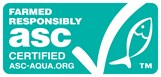 Aller Aqua comply with the ASC Fresh Water Trout Standard
