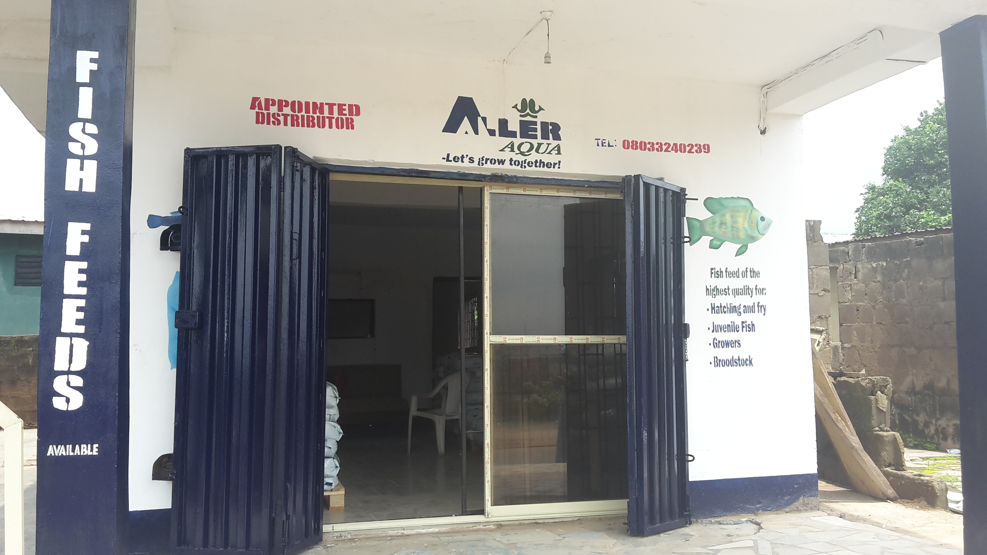 Aller Aqua Nigeria - Appointed distributor of fish feed for Aquaculture