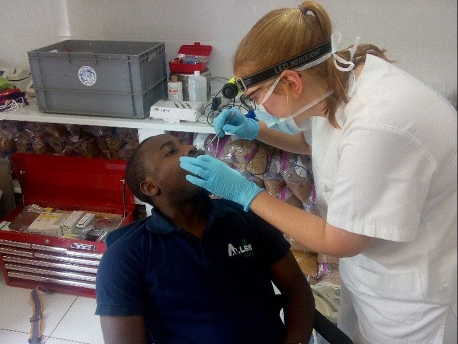 Dentist without limit visited Aller Aqua Zambia